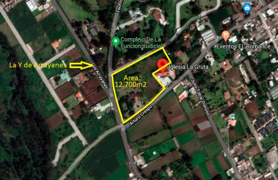 Terreno de Venta en Puembo 12.700 m2, Puembo, Ruta viva