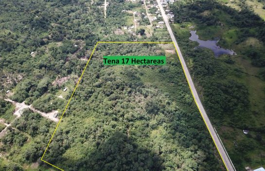 Terreno de venta El Tena, 17 Has, Ruta Panamerica, entrada a la ciudad