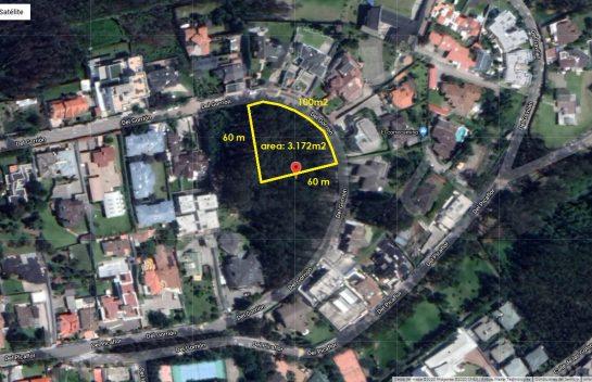 Terreno de venta en Monteserrín, 3.172 m2, Urbanización Campo Alegre