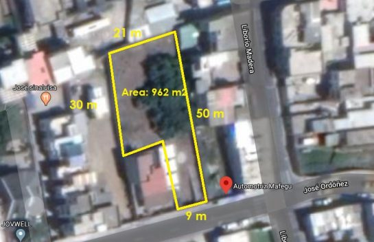 Venta de Terreno, Carcelen 962 m2 independiente, Barrio Corazón de Jesús
