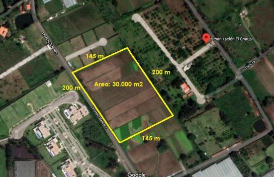 Lote de Terreno de venta en Puembo, 3 Hectáreas de Terreno, Cerca al Club los Arrayanes
