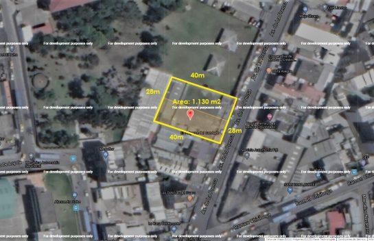 Terreno de venta sector El Condado, 1.130 m2, cerca del Condado Shopping