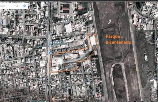 Terreno en venta Av. La Prensa 30.548 m2, junto al Parque Bicentenario