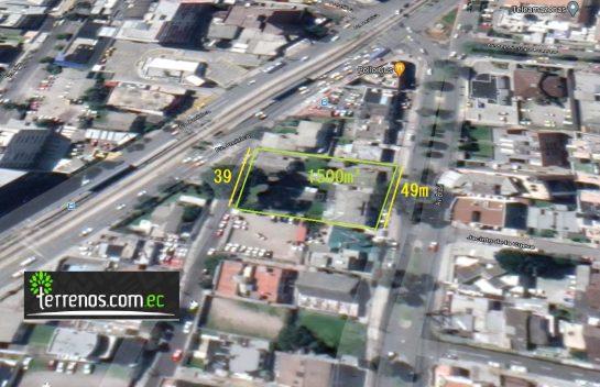 Venta de Terreno, Av. Brasil 1.500 m2 Quito Tennis, Canal 4