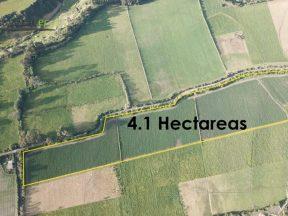Venta de terreno 41.172 m2, Machachi entre el Café de la Vaca y el peaje.