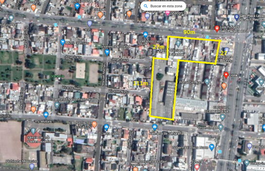 Terreno en Venta Av. Tufiño 10.397m2, Rumiñahui, Para Colegio, Iglesia