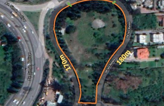 Terreno de venta Cumbayá 11.913 m2 San Juan Alto, Simón Bolívar