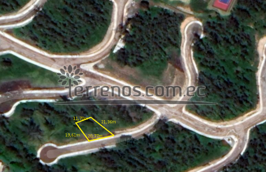 Terreno de venta en La Av. Simon Bolivar 447 m2, Urbanización Toscana, Sector UIDE