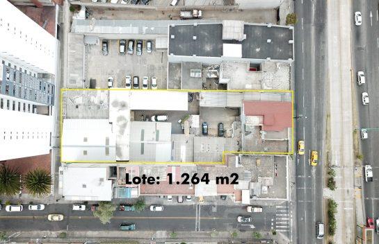 Venta de Terreno, Av. 10 de Agosto y Mañosca, 1.264 m2, sector comercial