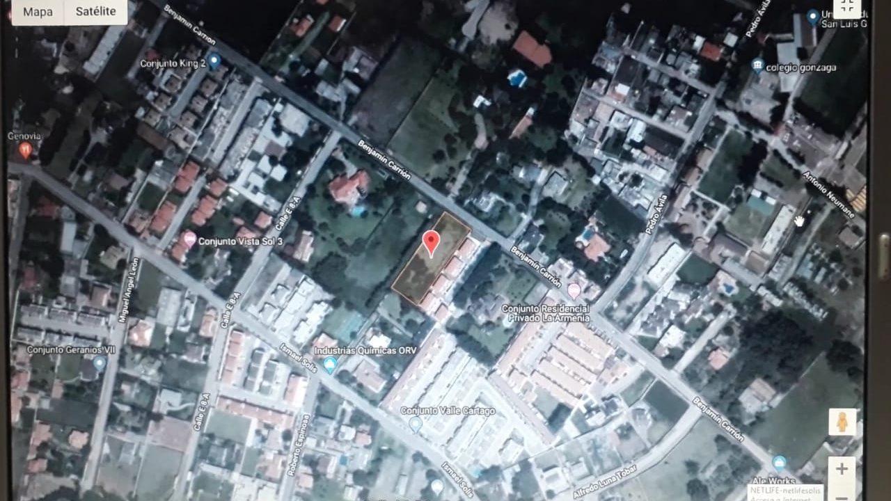 Terreno 2500 m2 Armenia