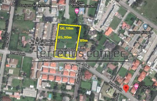 Terreno de venta en Conocoto 5.020m2, La Armenia,  Valle de los Chillos.