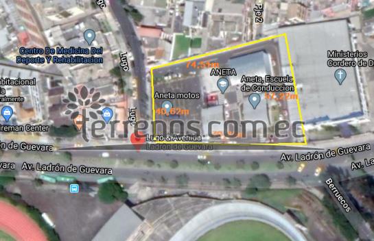 Terreno de venta en La Vicentina 4.062m2, La Floresta, esquinero, rentero.