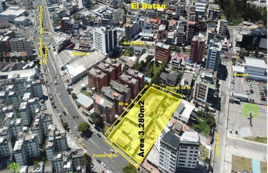 Terreno en venta 3.280 m2, Av. Granados, El Batán.