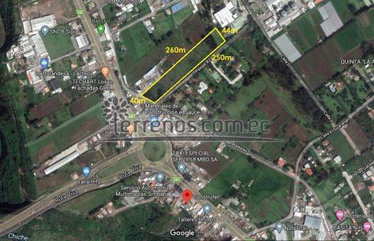 Terreno de Venta,  Puembo 10.000 m2.  Cerca a la Ruta Viva