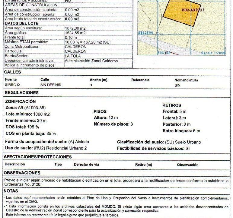 Irm 8.321 m2 Calderon 2