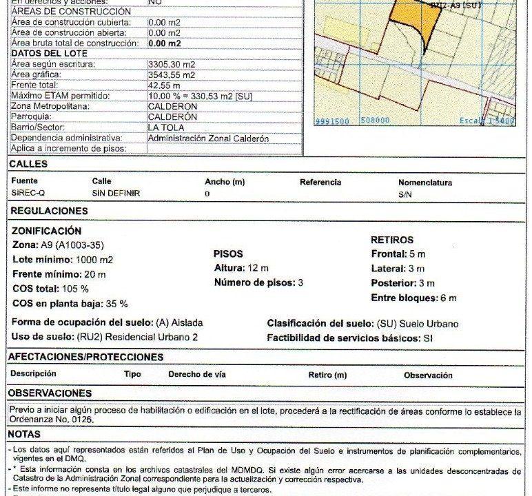 Irm 8.321 m2 Calderon 4