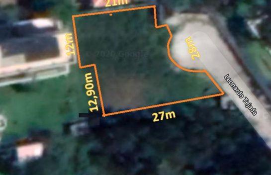 Terreno de Venta en Monteserrín 839 m2, Lomas de Monteserrín