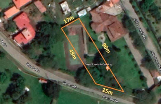 Terreno de venta en Tumbaco 1.050 m2, Urbanización Las Peñas, El Chaquiñán