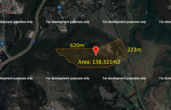Terreno en Venta Inga 138.321 m2 sector Pifo, E-35 Panamericana