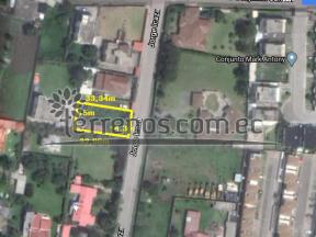Terreno de venta en Conocoto 507m2, La Armenia, Valle de los Chillos.