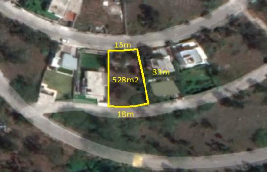 Terreno en Venta Nayon 528 m2, Urbanización Juan Montalvo, Cerca de Cumbaya