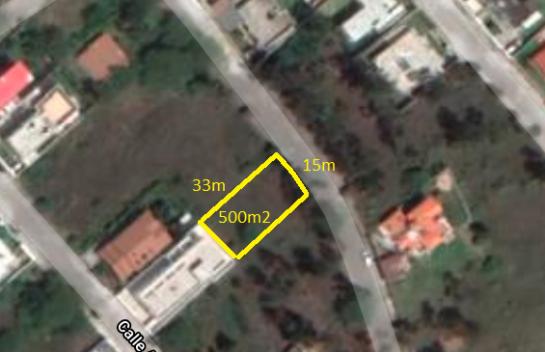 Terreno en Venta, Nayon 500 m2, Urbanización Juan Montalvo, Cerca de Cumbaya