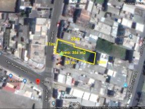 Venta de Terreno, La Luz 356 m2, sector Los Álamos, cerca Av. 6 de Diciembre  Copia