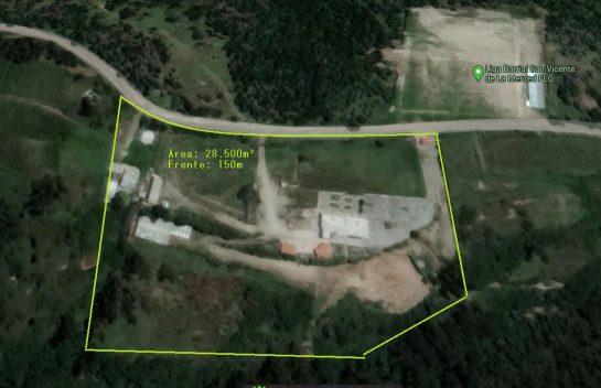 Venta de Terreno, 28.500 m2, Valle De los Chillos, sector La Merced.