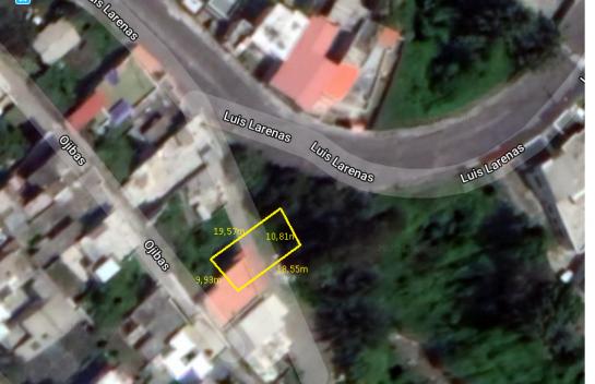 Terreno de venta en Puengasí 173m2, Las Orquideas, Monjas