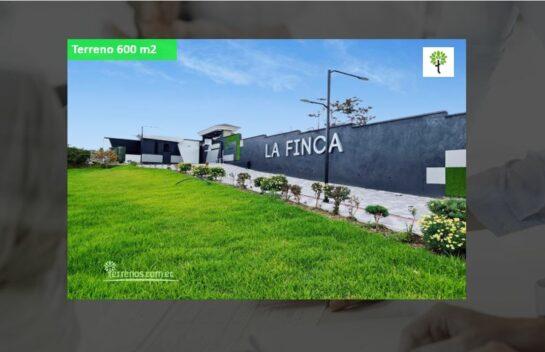 Terreno de Venta 813 m2 Puembo Urb. La Finca Muy bien Ubicado