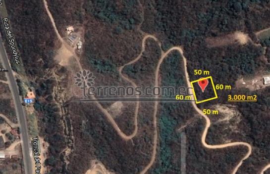 Terreno de Venta 3.000 m2 El Recreo en Canoa, Ruta Spondylus