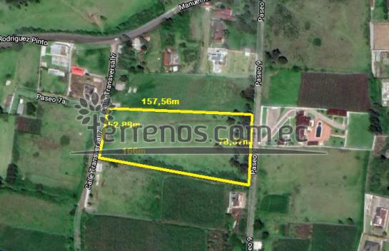 Terreno de Venta en Conocoto 5.000m2, Ontaneda alto.