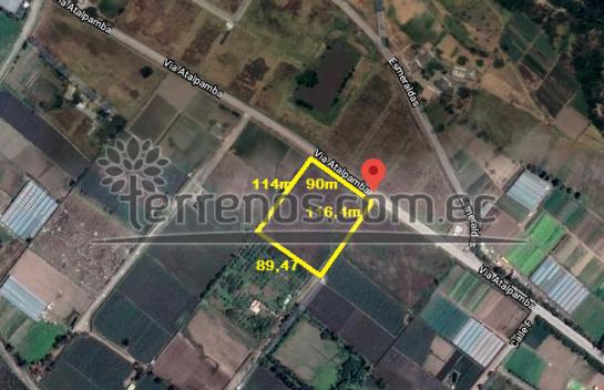 Terreno de Venta en El Quinche 11.505m2, Aeropuerto, Chamizal