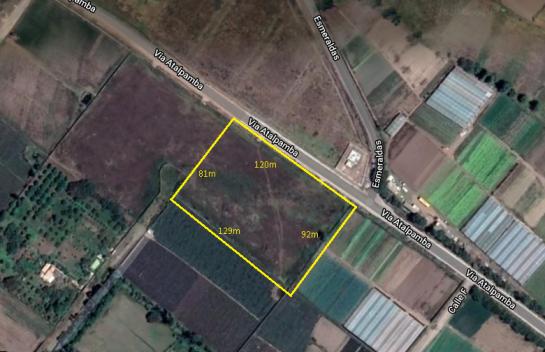 Terreno de Venta, Aeropuerto, 11.343m2, El Quinche, Chamizal
