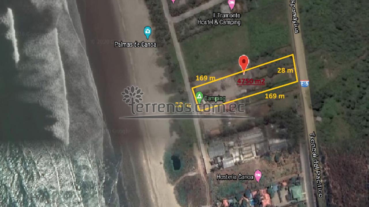4750 m2 - Canoa - San Vicente