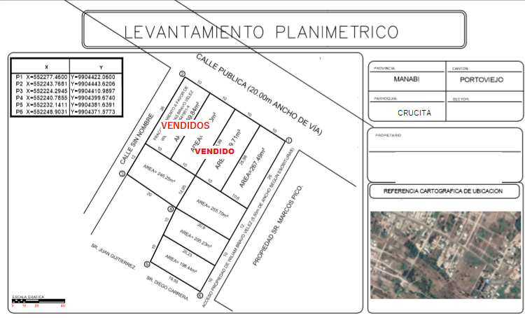 LEVANTAMIENTO PLANIMETRICO LOTES