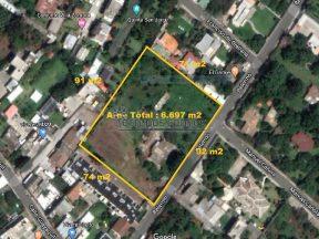 Terreno de venta en Tumbaco 6.697 m2 a pocos metros de Vía Interoceánica
