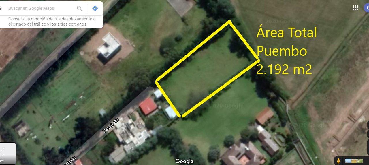 area total Puembo