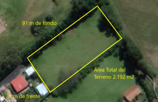 Terreno de venta en Puembo  de 2.192 m2 en  Chiche Obraje