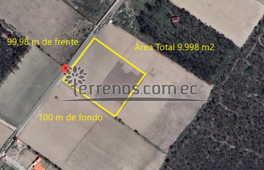 Terreno de venta en Malchingui 9.998 m2 centro de Malchingui
