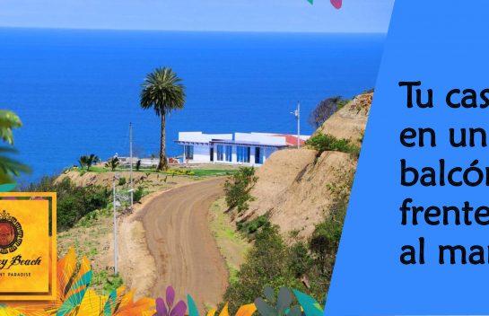 Venta de lote, 408 m2 Urbanización Monkey Beach, Canoa, Ruta del Spondylus