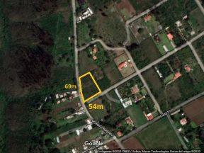 Terreno en venta Puembo 2.672 m2. Urbanización Shalom, Mangahuantag.