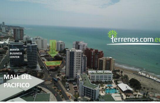 Terreno de Venta en Manta 786 m2 sector Playa el Murciélago