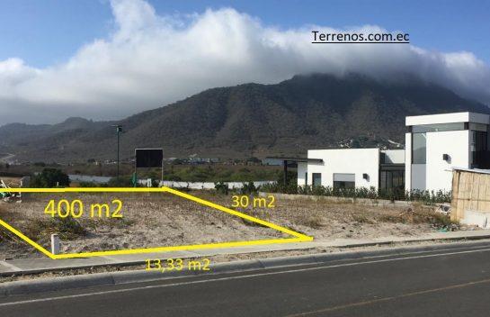 Terreno de Venta 400 m2 Montecristi Golf Club & Villas, dos frentes, Manabí
