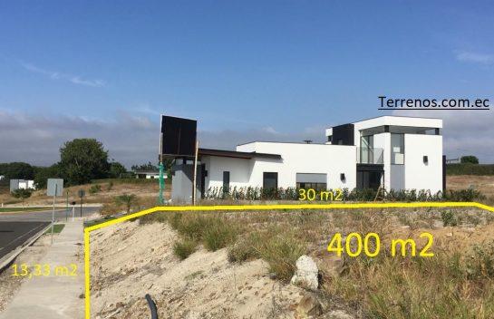Terreno de Venta 400 m2, Montecristi Golf Club & Villas, dos frentes, Manabí.