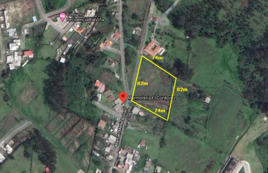 Terreno de venta en Alangasí 6.345 m2, sector Ushimana, cerca de la Av. Ilalo