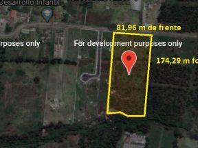 Terreno de venta en Llano Chico 14.285 m2 antigua hcda. San Jose