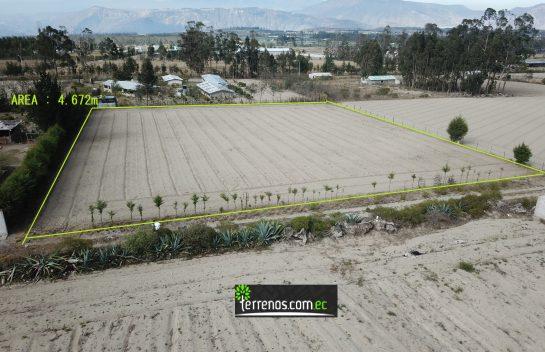 Terreno de venta 4.672m2 Machilgui a 45 minutos de Quito.