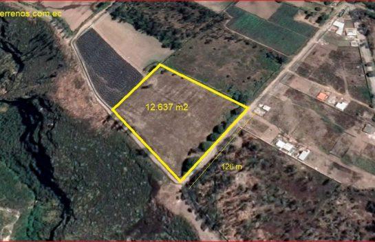 Terreno de Venta 12.637 m2 en El Quinche, El Chamizal.