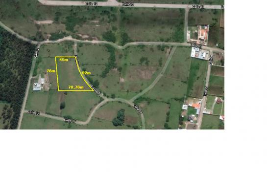 Terreno de venta en Alangasí 4500 m2, perfecto para proyecto